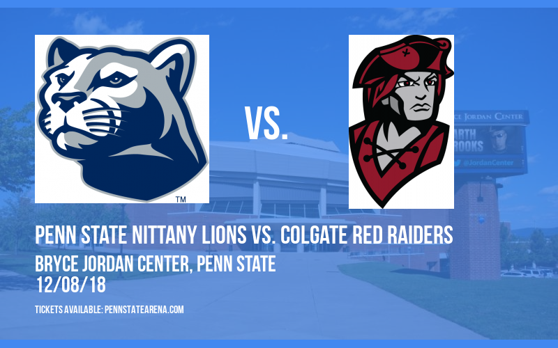 Penn State Nittany Lions vs. Colgate Red Raiders at Bryce Jordan Center