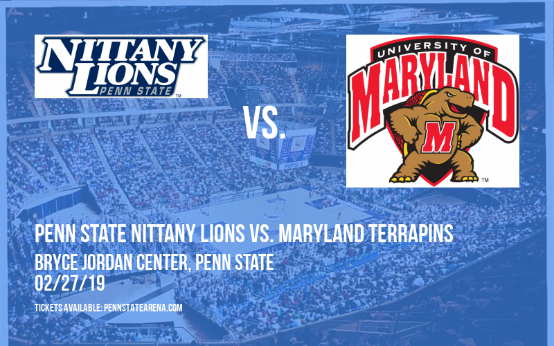 Penn State Nittany Lions vs. Maryland Terrapins at Bryce Jordan Center