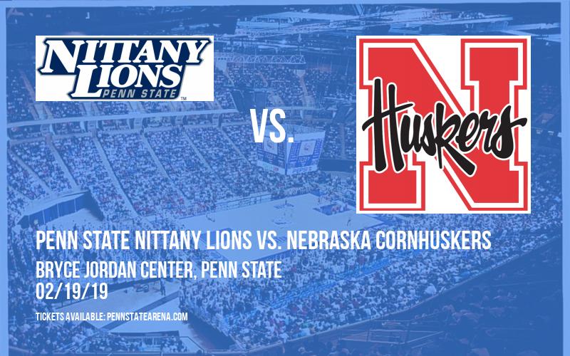 Penn State Nittany Lions vs. Nebraska Cornhuskers at Bryce Jordan Center
