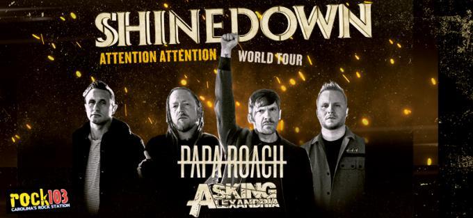 Shinedown, Papa Roach & Asking Alexandria at Bryce Jordan Center