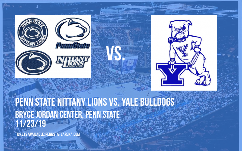 Penn State Nittany Lions vs. Yale Bulldogs at Bryce Jordan Center