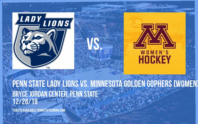 Penn State Lady Lions vs. Minnesota Golden Gophers [WOMEN] at Bryce Jordan Center