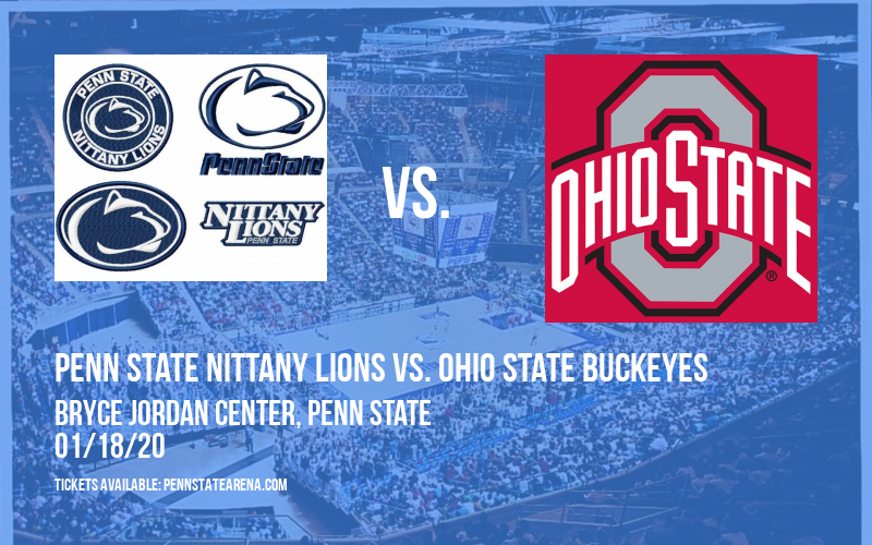 Penn State Nittany Lions vs. Ohio State Buckeyes at Bryce Jordan Center