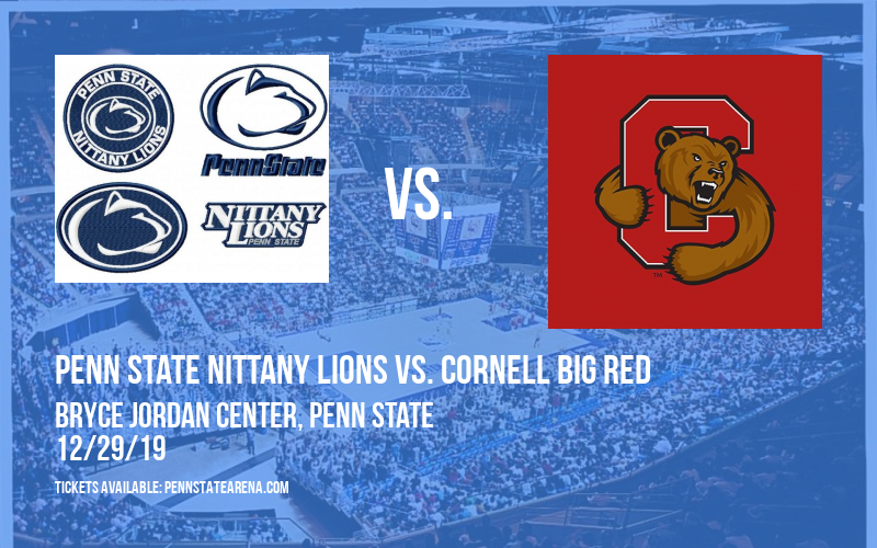 Penn State Nittany Lions vs. Cornell Big Red at Bryce Jordan Center