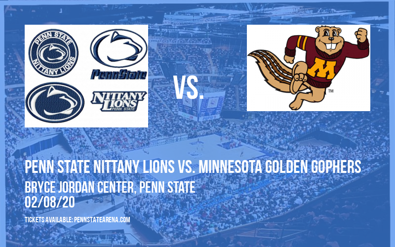 Penn State Nittany Lions vs. Minnesota Golden Gophers at Bryce Jordan Center