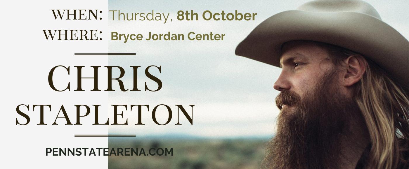 Chris Stapleton at Bryce Jordan Center