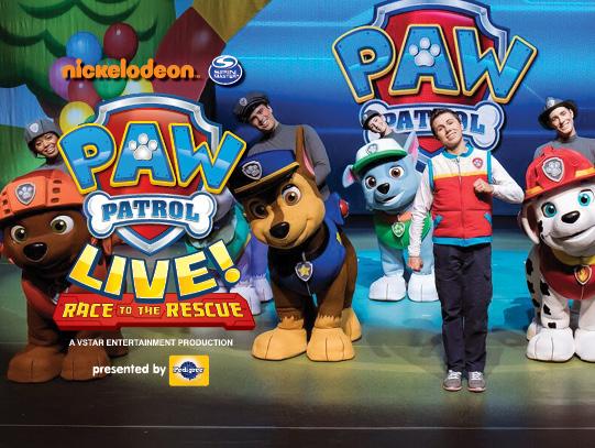 Paw Patrol Live at Bryce Jordan Center