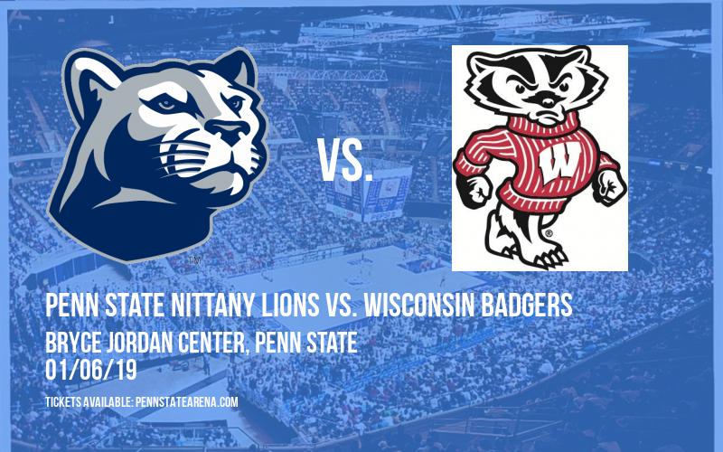 Penn State Nittany Lions vs. Wisconsin Badgers at Bryce Jordan Center