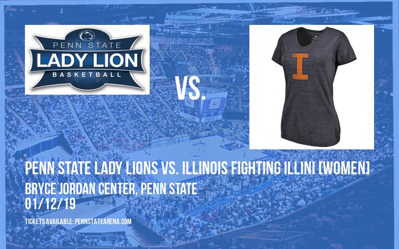 Penn State Lady Lions vs. Illinois Fighting Illini [WOMEN] at Bryce Jordan Center