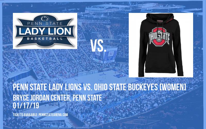 Penn State Lady Lions vs. Ohio State Buckeyes [WOMEN] at Bryce Jordan Center