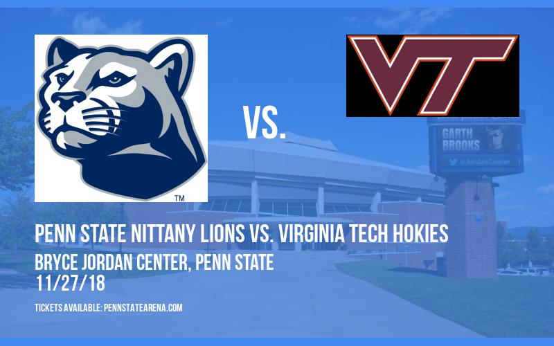Penn State Nittany Lions Vs. Virginia Tech Hokies at Bryce Jordan Center