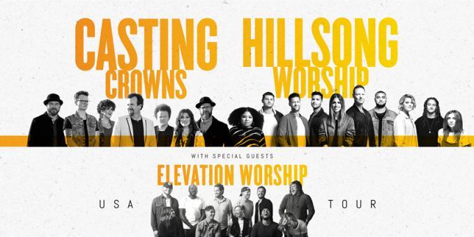 Casting Crowns & Hillsong Worship at Bryce Jordan Center