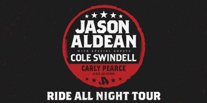 Jason Aldean, Cole Swindell & Carly Pearce at Bryce Jordan Center