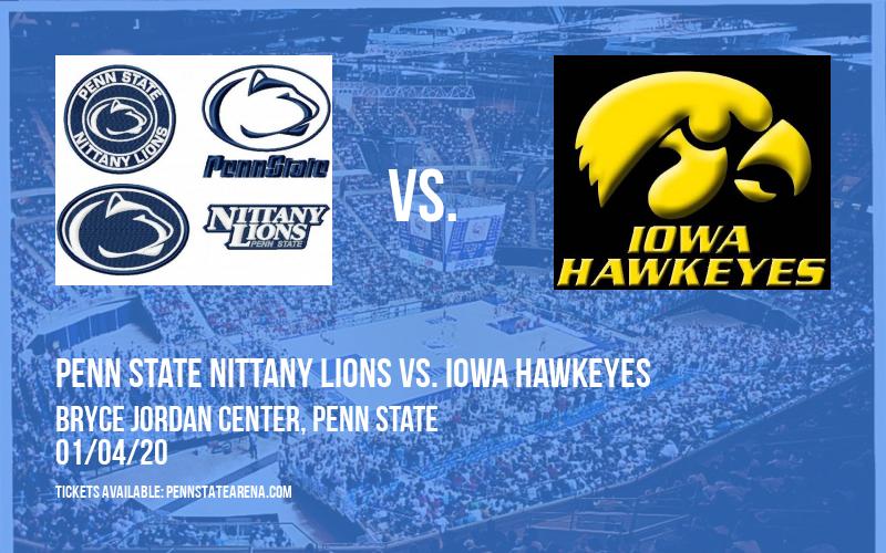 Penn State Nittany Lions vs. Iowa Hawkeyes at Bryce Jordan Center