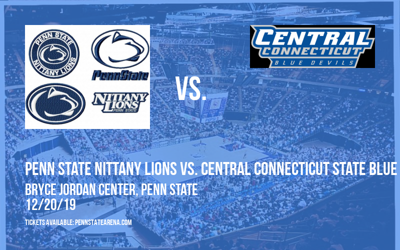 Penn State Nittany Lions vs. Central Connecticut State Blue Devils at Bryce Jordan Center