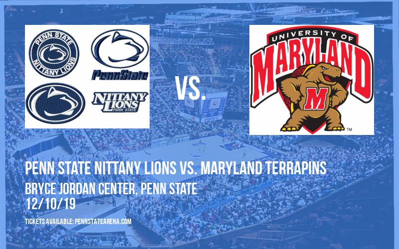 Penn State Nittany Lions vs. Maryland Terrapins at Bryce Jordan Center