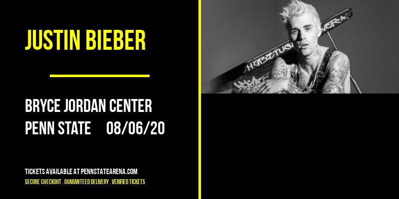 Justin Bieber [CANCELLED] at Bryce Jordan Center