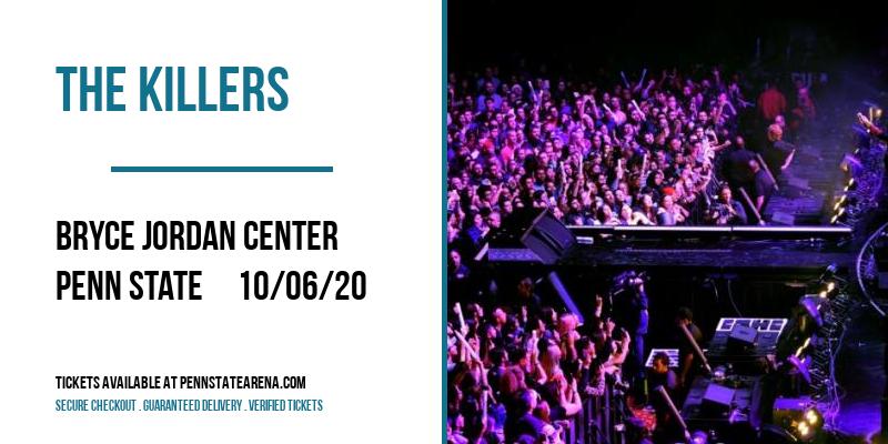 The Killers [POSTPONED] at Bryce Jordan Center