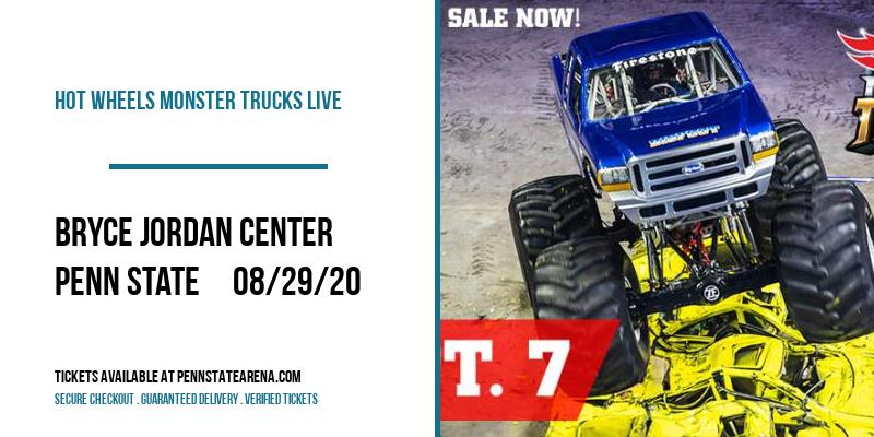Hot Wheels Monster Trucks Live [CANCELLED] at Bryce Jordan Center